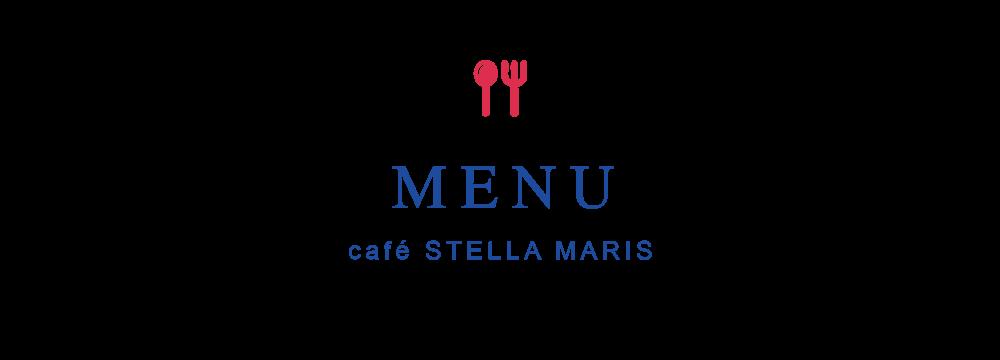 MENU café STELLA MARIS
